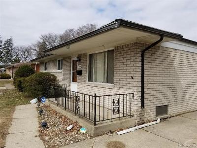 Macomb Rental For Rent: 4189 Garrick Ave