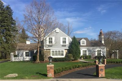 Bloomfield Hills Single Family Home For Sale: 275 Barden Rd