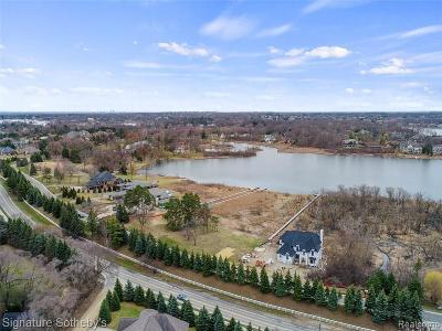 Bloomfield Hills Residential Lots & Land For Sale: 2681 Turtle Shores Dr