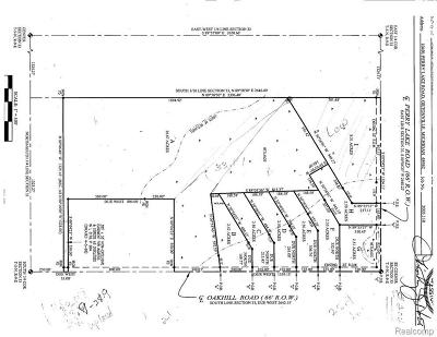 Oakland Residential Lots & Land For Sale: Perry Lake Rd