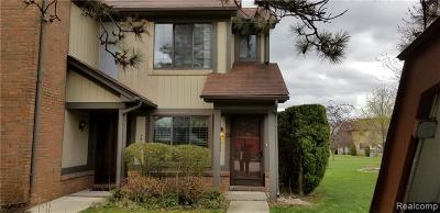 Rochester Hills Condo/Townhouse For Sale: 1500 Meadow Side
