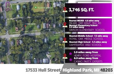 Wayne Residential Lots & Land For Sale: 17533 Hull St