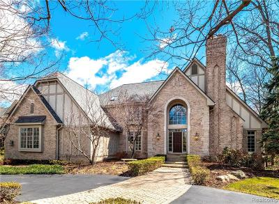 Bloomfield Hills Single Family Home For Sale: 2489 Heronwood Dr