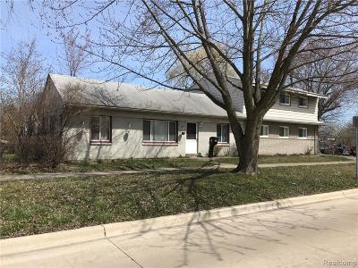 Macomb Single Family Home For Sale: 26004 Normandy St