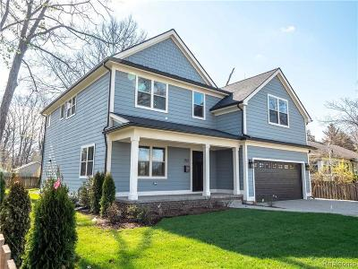 Grosse Pointe Farms Single Family Home For Sale: 252 Williams Ave