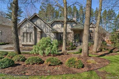 Lake Orion Single Family Home For Sale: 222 Kirksway Ln