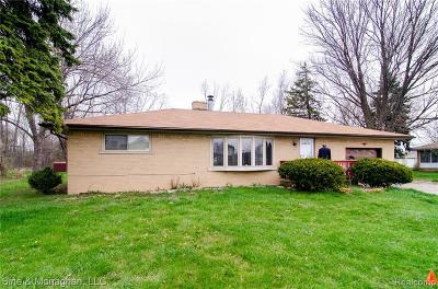 Troy Single Family Home For Sale: 2909 E Wattles Rd