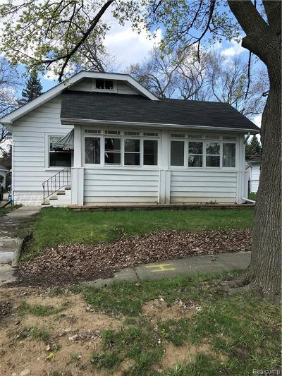 Flint Single Family Home For Sale: 629 Lochhead Ave