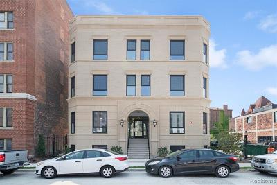 Detroit Condo/Townhouse For Sale: 64 Watson St