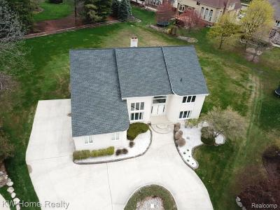 Shelby Twp Single Family Home For Sale: 3545 Grandview Crt