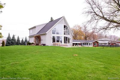 Harrison Twp Single Family Home For Sale: 25710 N River Rd