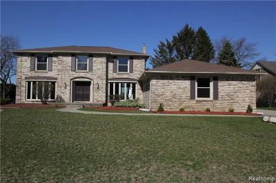 Shelby Twp Single Family Home For Sale: 54243 Iroquois Ln