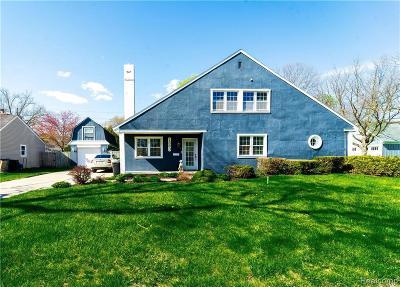Birmingham Single Family Home For Sale: 1583 Villa Rd