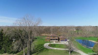 Lapeer Single Family Home For Sale: 5710 Scotch Settlement Rd