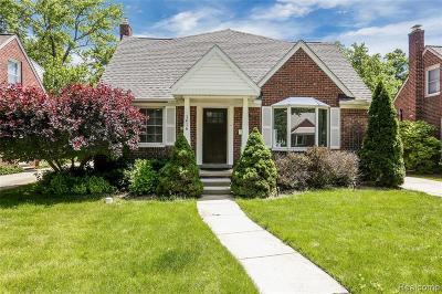 Royal Oak Single Family Home For Sale: 1616 N Pleasant St