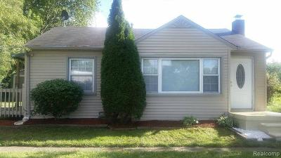 Trenton Single Family Home For Sale: 20119 Vreeland Rd
