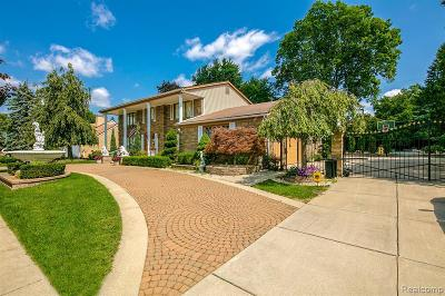 Dearborn Heights Single Family Home For Sale: 1836 Kinmore St