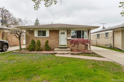 Dearborn Heights Single Family Home For Sale: 5731 N Evangeline St