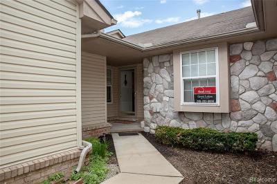 Utica Condo/Townhouse For Sale: 12490 Noonan Crt