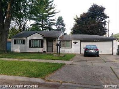 Taylor Single Family Home For Sale: 5850 Daniels St