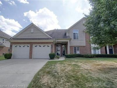 Shelby Twp Condo/Townhouse For Sale: 3695 Eagle Creek Dr