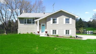 Lapeer Single Family Home For Sale: 1342 Pratt Rd