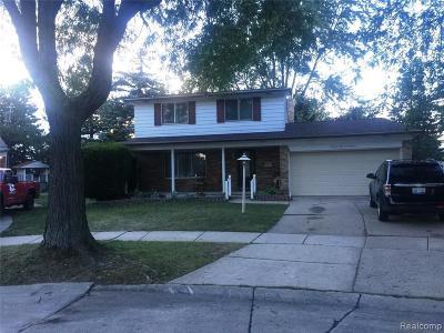 Troy Single Family Home For Sale: 2391 Castleton Dr