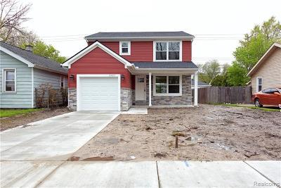 Hazel Park Single Family Home For Sale: 23433 Reynolds Ave