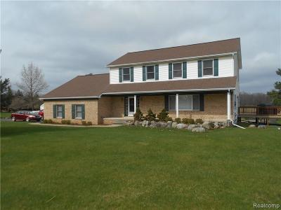 Lapeer Single Family Home For Sale: 2706 Clark Rd