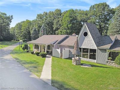 Lake Orion Single Family Home For Sale: 909 Joslyn Rd
