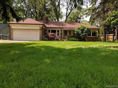 Taylor Single Family Home For Sale: 9670 Mortenview Dr
