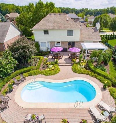 Rochester Hills Single Family Home For Sale: 3437 Cascade Cir