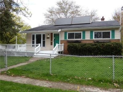 Flint Single Family Home For Sale: 3701 Maryland Ave