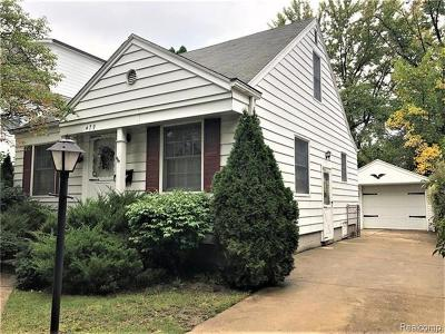 Birmingham Single Family Home For Sale: 479 Bird Ave
