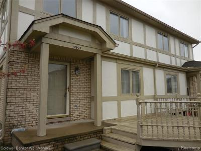 Clinton Township Condo/Townhouse For Sale: 41995 King Edward Ct