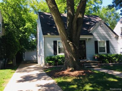 Birmingham Single Family Home For Sale: 1847 Bowers St