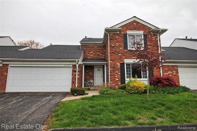 Bloomfield Hills Condo/Townhouse Pending: 1548 Georgetown Pl