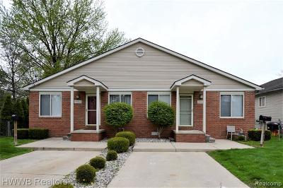 Mount Clemens Multi Family Home For Sale: 284 N Rose St