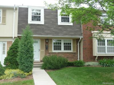 Troy Condo/Townhouse For Sale: 5306 Breeze Hill Plc