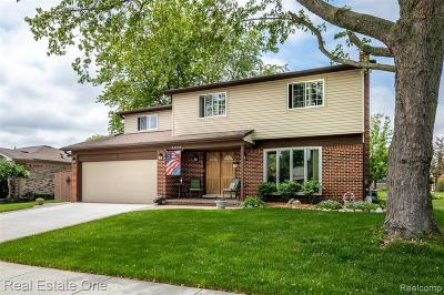 Clinton Township Single Family Home For Sale: 44373 Whitefish Bay