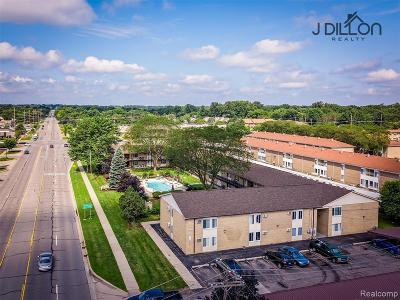 Plymouth Condo/Townhouse For Sale: 1450 Ann Arbor Rd. Rd W