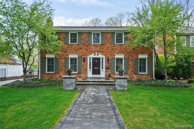 Birmingham Single Family Home For Sale: 833 Mohegan St
