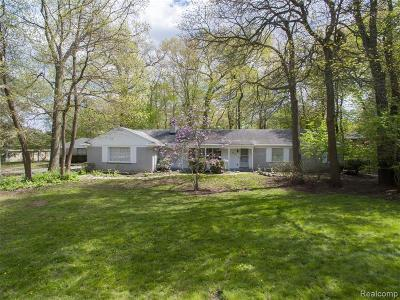 Troy Single Family Home For Sale: 2251 Dalesford Dr