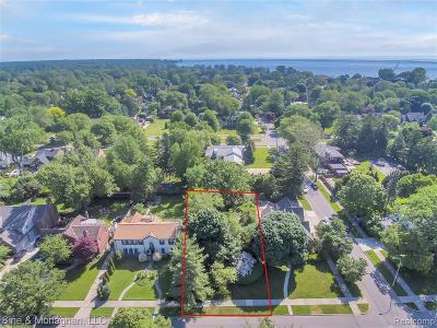 Grosse Pointe Park Residential Lots & Land For Sale: 704 Lakepointe St