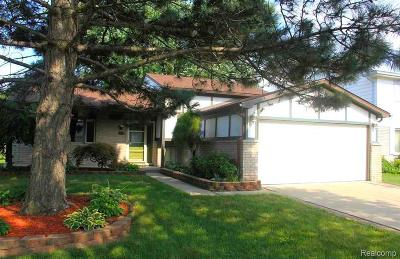 Sterling Heights Single Family Home For Sale: 39660 Forbes Dr