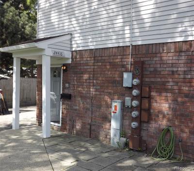 Clinton Township Condo/Townhouse For Sale: 24416 Quad Park Ln
