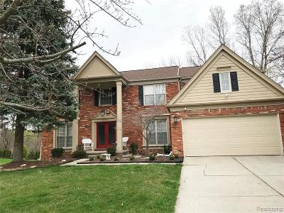 Farmington Hills Single Family Home For Sale: 30840 Sunderland Dr
