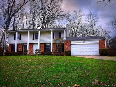 Bloomfield Hills Single Family Home For Sale: 2831 Acorn Rd