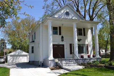 Royal Oak Single Family Home For Sale: 603 Midland Blvd