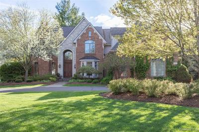 Bloomfield Hills Single Family Home For Sale: 3959 Oakland Dr